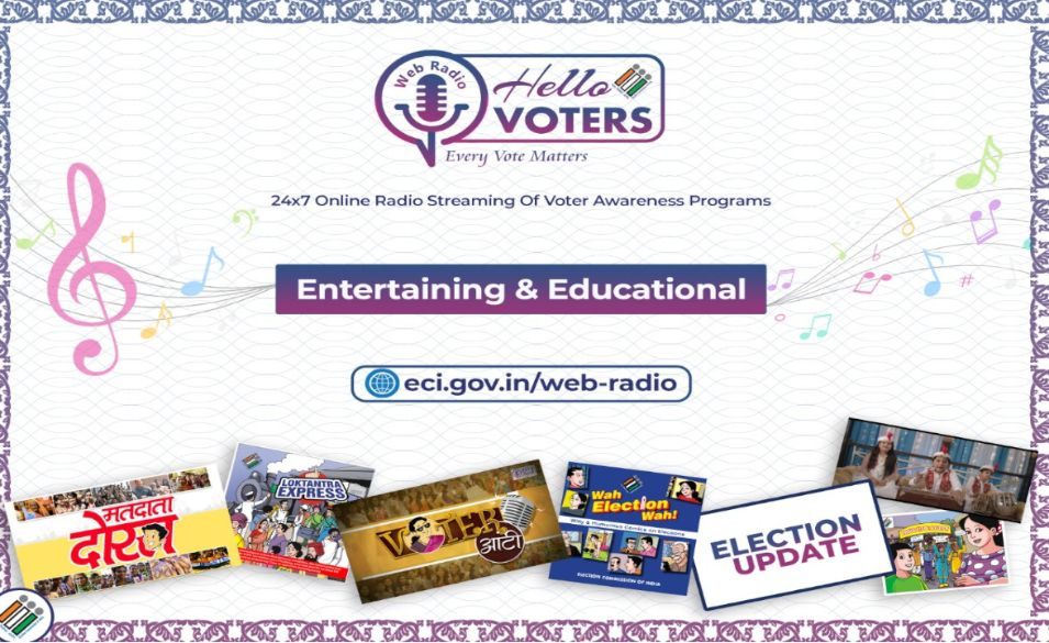 Hello Voters web radio